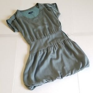 Gap Mini Dress, Sage Green Women's Size 0